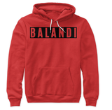 Block Hoodie 2XL Burning Red Women's Hoodies balandi.myshopify.com Balandi
