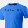 Visionary Blue T-shirt | Workout Shirt - Short Sleeve Gym Shirt | Balandi
