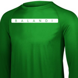 Activate Long Sleeve | Workout Shirt - Long Sleeve Gym Shirt | DRY