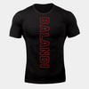 Balandi Training T-Shirt - Black Workout Fitted T-Shirt | Cheap Tee