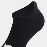 Workout Grip Black Socks | Women Fitness Socks | Workout Socks Women