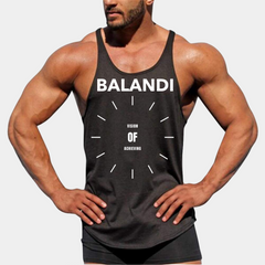 Balandi Showy Stringer | Body Building Stringer | Tank Top Stringer Mens