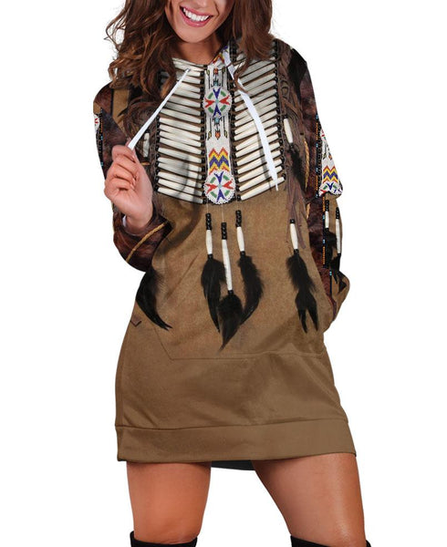 Native Ooze Hoodie Dress