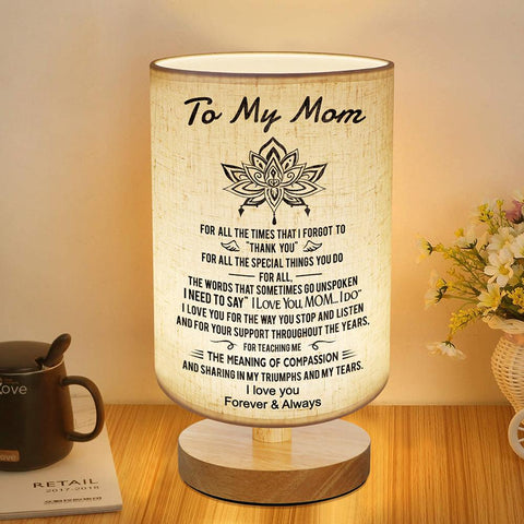 Bedside Night Lamp For Mom