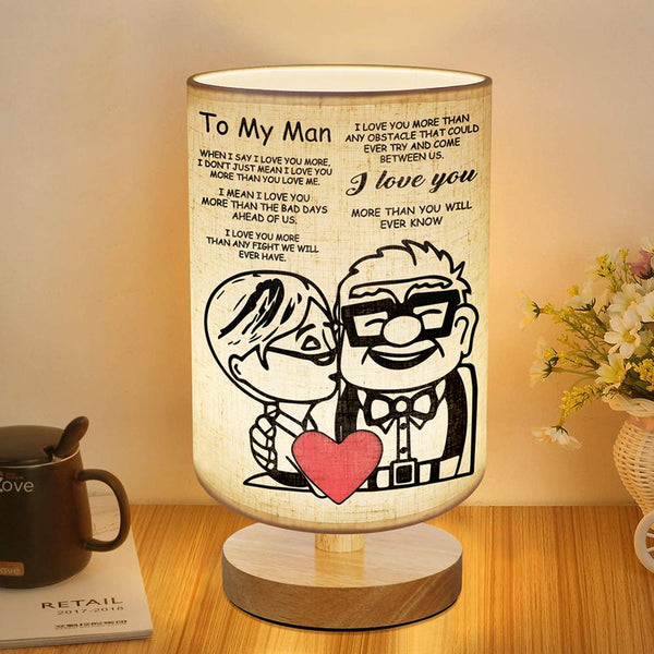 Bedside Night Lamp For Love