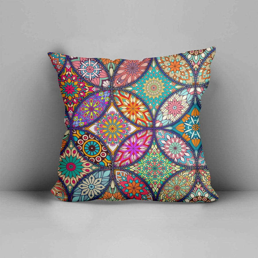 Mandala Pillow Cover 05