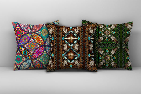 Native American Pillow Cover 11