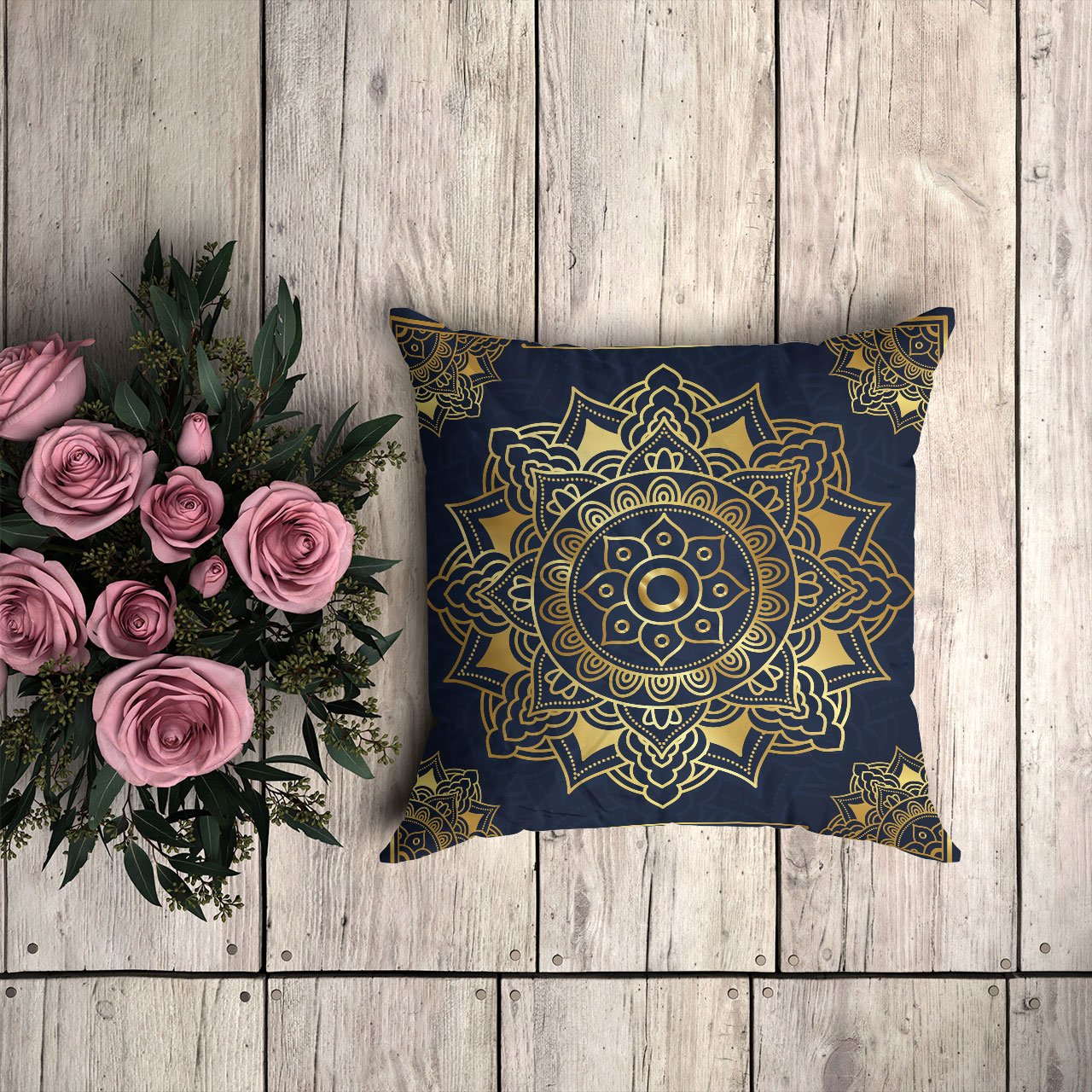 Mandala Pillow Cover 36