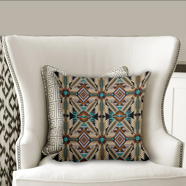 Native American Pillow Cover 38