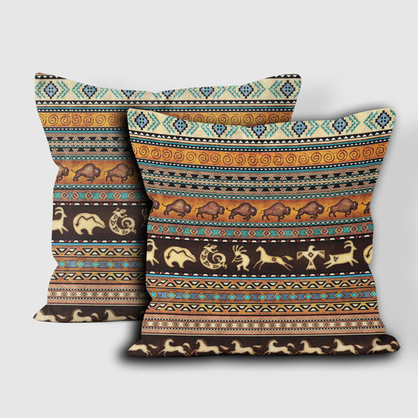 Native American Pillow Cover 56