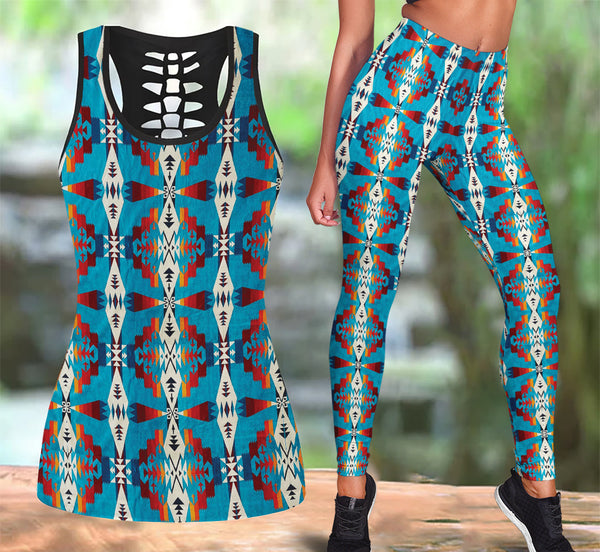 Native American Tank Top & Legging Set 01