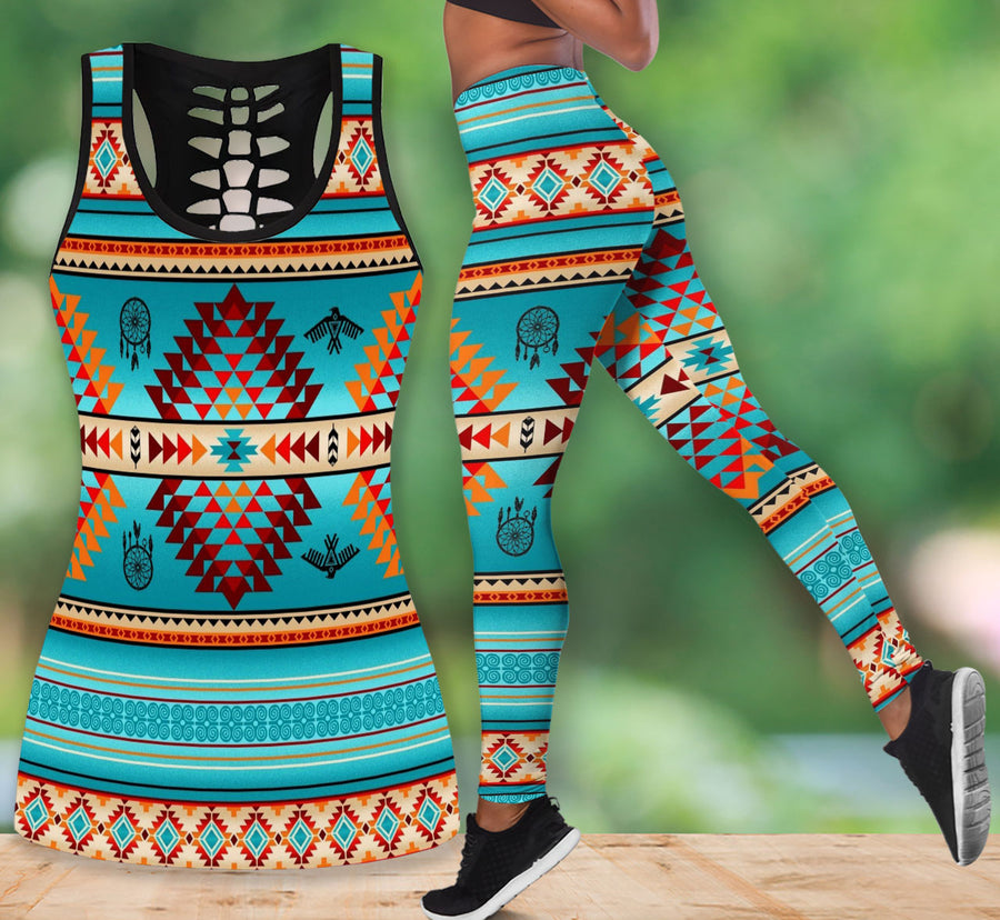 Native American Tank Top & Legging Set 04