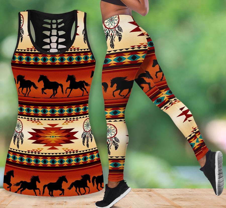 Native American Tank Top & Legging Set 06