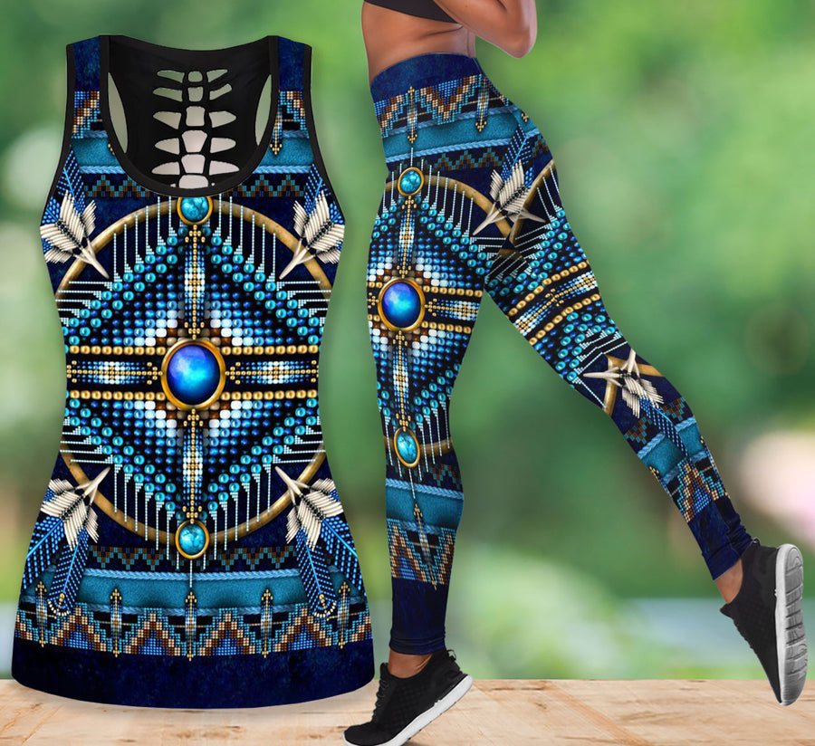 Native American Tank Top & Legging Set 10