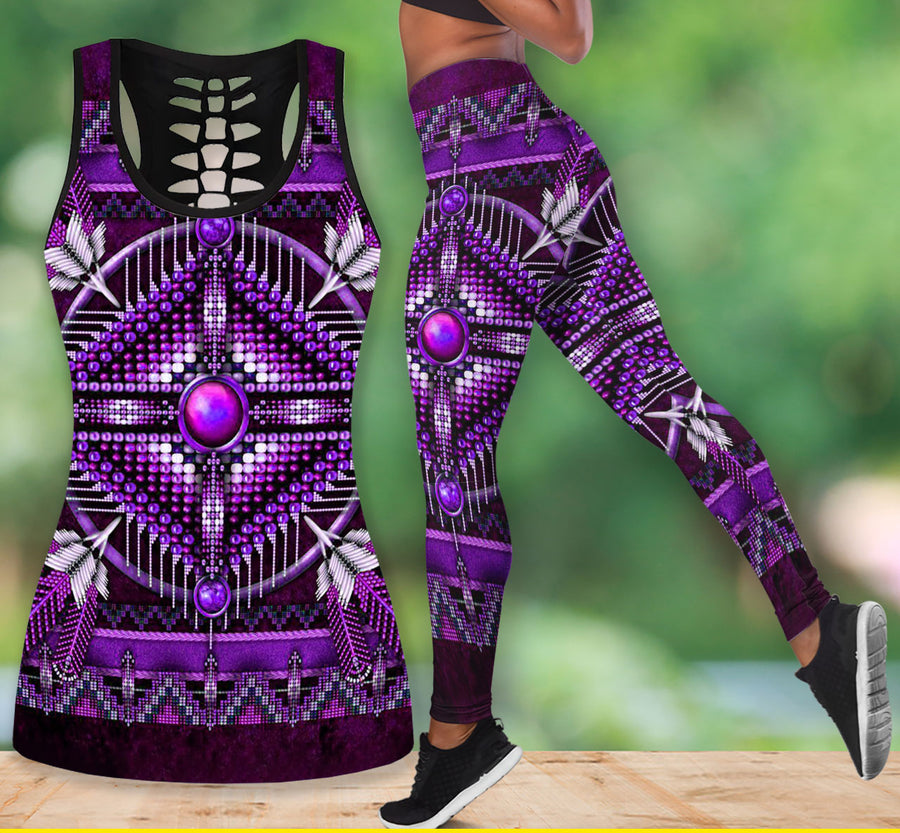 Native American Tank Top & Legging Set 11