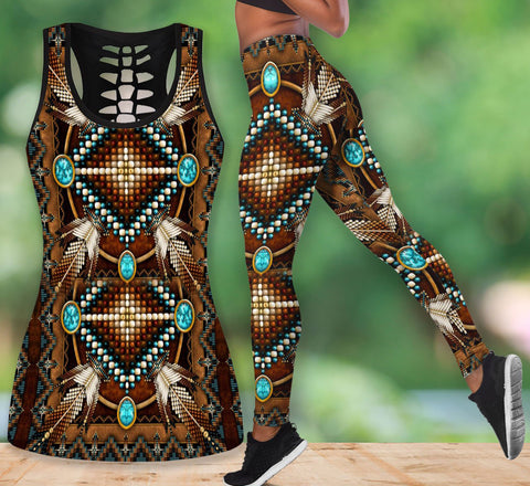 Native American Tank Top & Legging Set 14