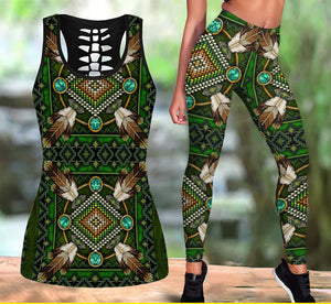 Native American Tank Top & Legging Set 15