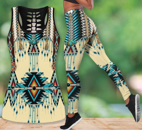 Native American Tank Top & Legging Set 16