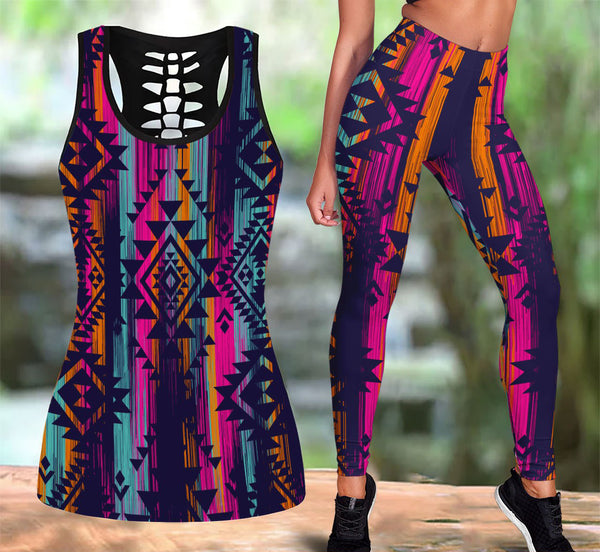 Native American Tank Top & Legging Set 23