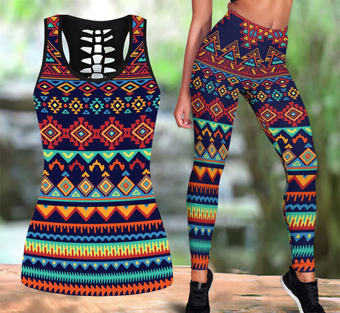 Native American Tank Top & Legging Set 30