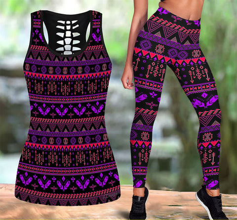 Native American Tank Top & Legging Set 07