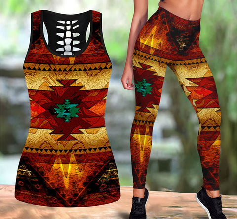 Native American Tank Top & Legging Set 12