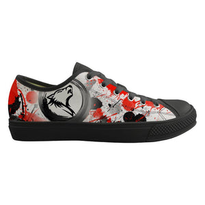 Black-Red Wolf Shoes