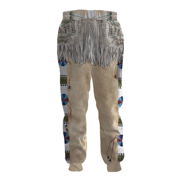 Native Tassel Sweatpants