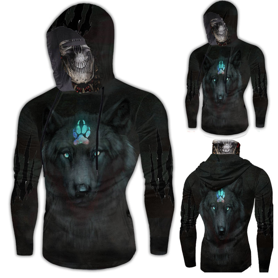 Hoodie With Gaiter 0018