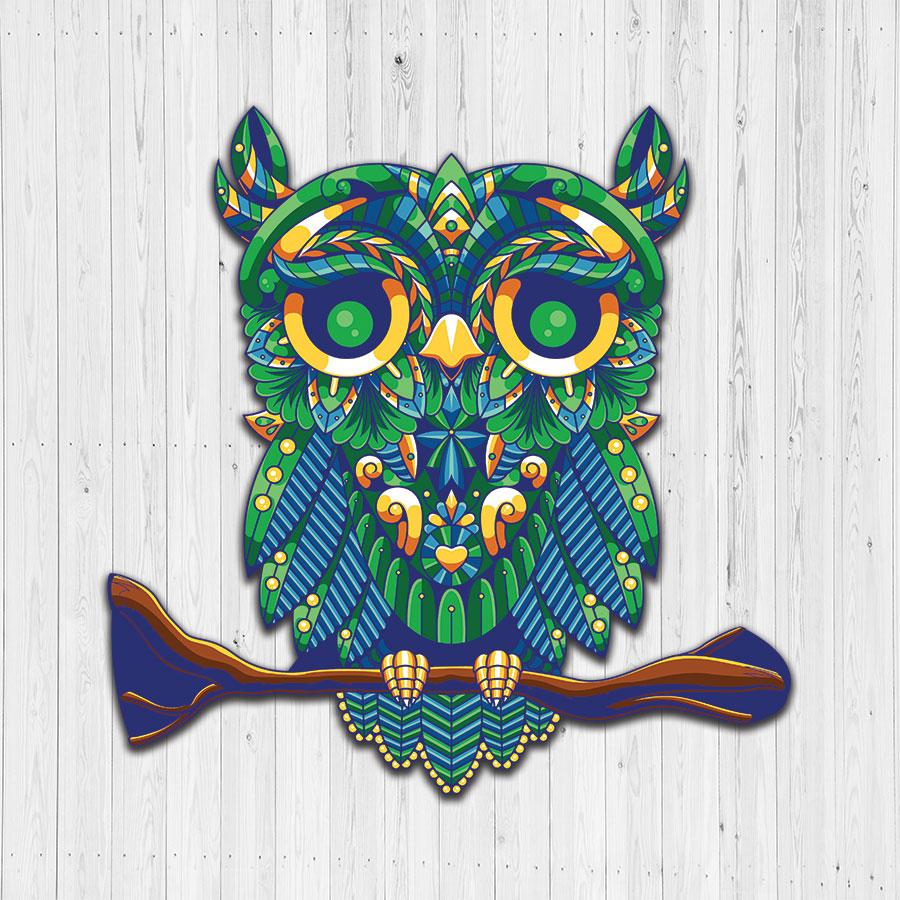 CHARMING OWL JIGSAW PUZZLE