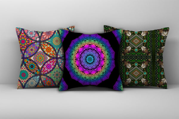 Mandala Pillow Cover 13