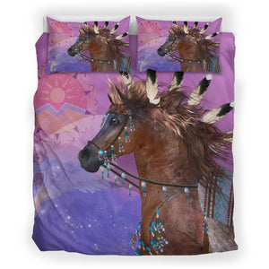Native Beaded Horse