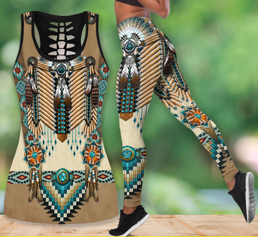 Native American Tank Top & Legging Set 54