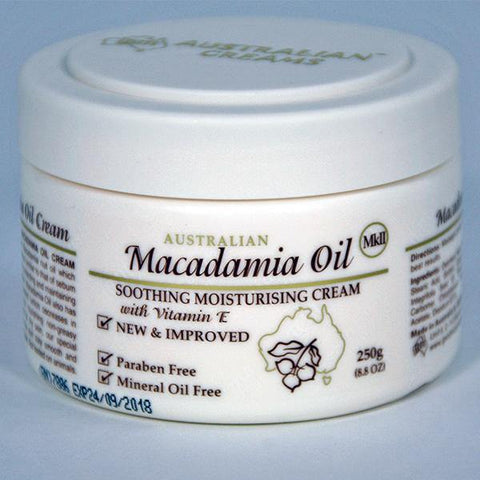 Macadamia Oil Cream