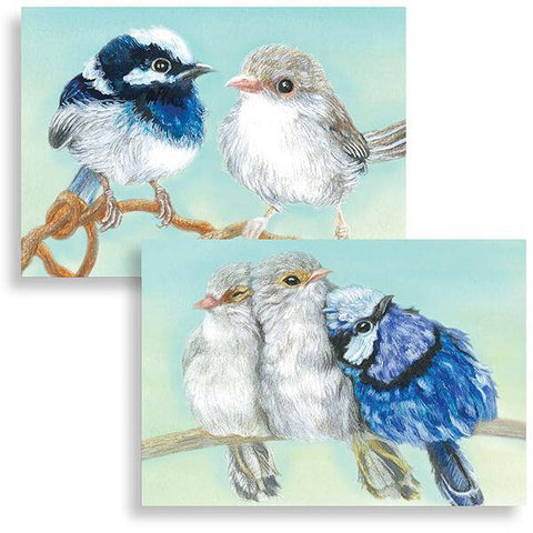 The Leprosy Mission Blue Wren Cards