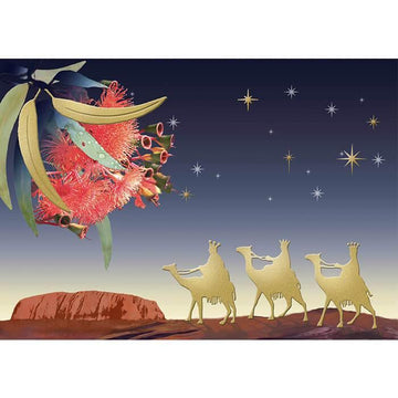 Three Kings In The Outback Cards - The Leprosy Mission Australia Shop