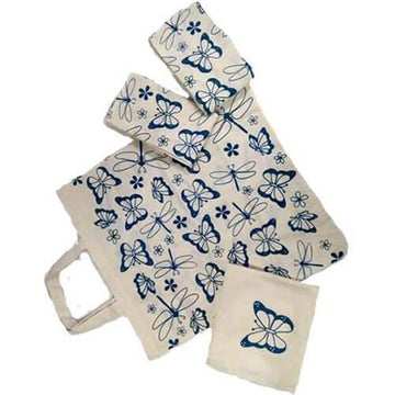 Foldable Grocery Bag Set of 4 - The Leprosy Mission Australia Shop