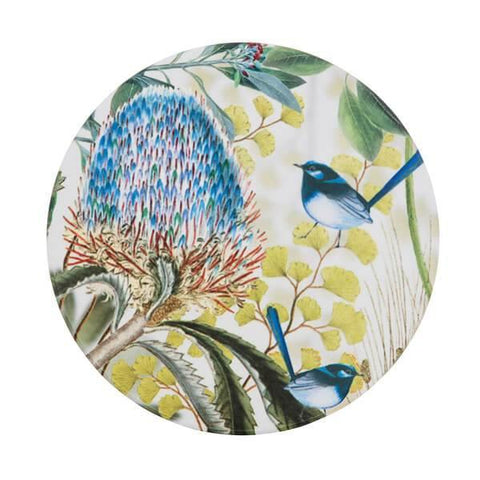 Banksia and Blue Wren Ceramic Coaster (Promo)