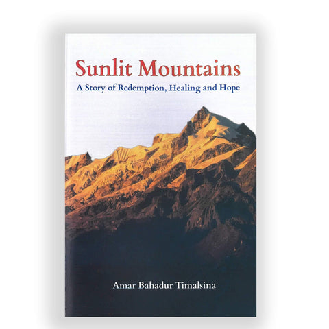 Sunlit Mountains Book