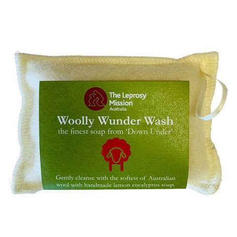 The Leprosy Mission Woolly Soap Bar