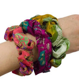 Silk Hair Scrunchie - The Leprosy Mission Australia Shop