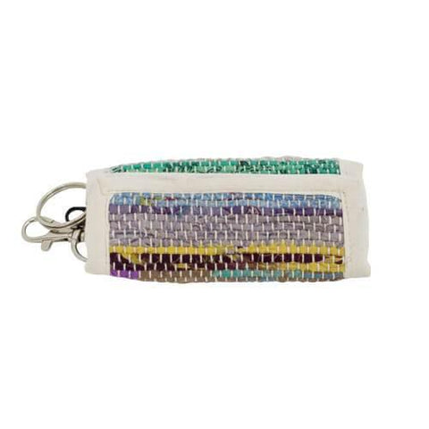 Recycled Sari Key Ring Wallet