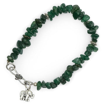 Green Stone Bracelet - The Leprosy Mission Australia Shop