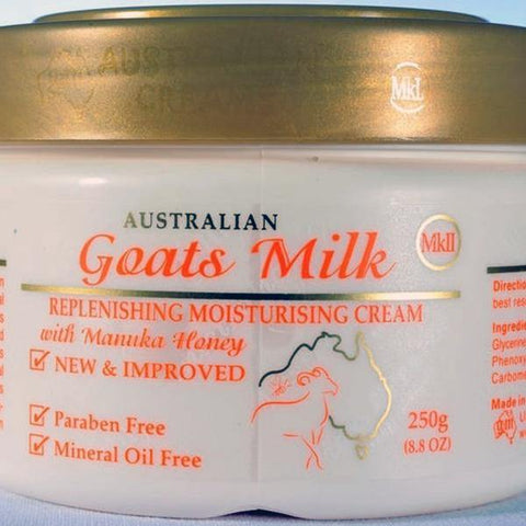 Goats Milk with Manuka Honey Moisturising Cream