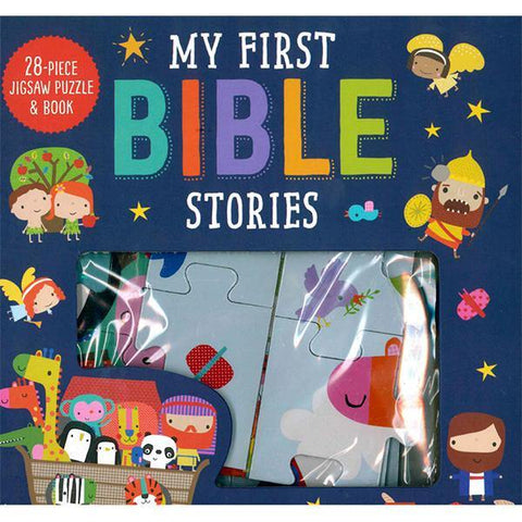 My First Bible Stories Puzzle & Book