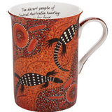 Perentie Aboriginal Mug - The Leprosy Mission Australia Shop