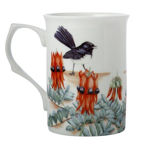 Willy Wag Tail & Sturt Desert Pea Mug