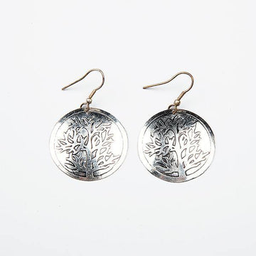 Tree of Life Silver Earrings - The Leprosy Mission Australia Shop