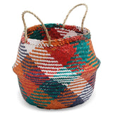 Large Seagrass Multicolour Basket
