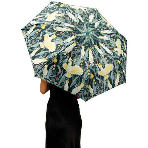 Native Birds Foldable Umbrella